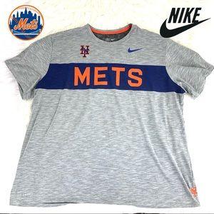 Nike New York Mets Dri-Fit T-Shirt Adult 3XL